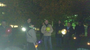 Reading Vigil Against Hate Crime