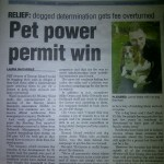 Get Reading 18th May 2012 pet tax