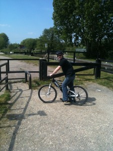 Cycling in Whitley